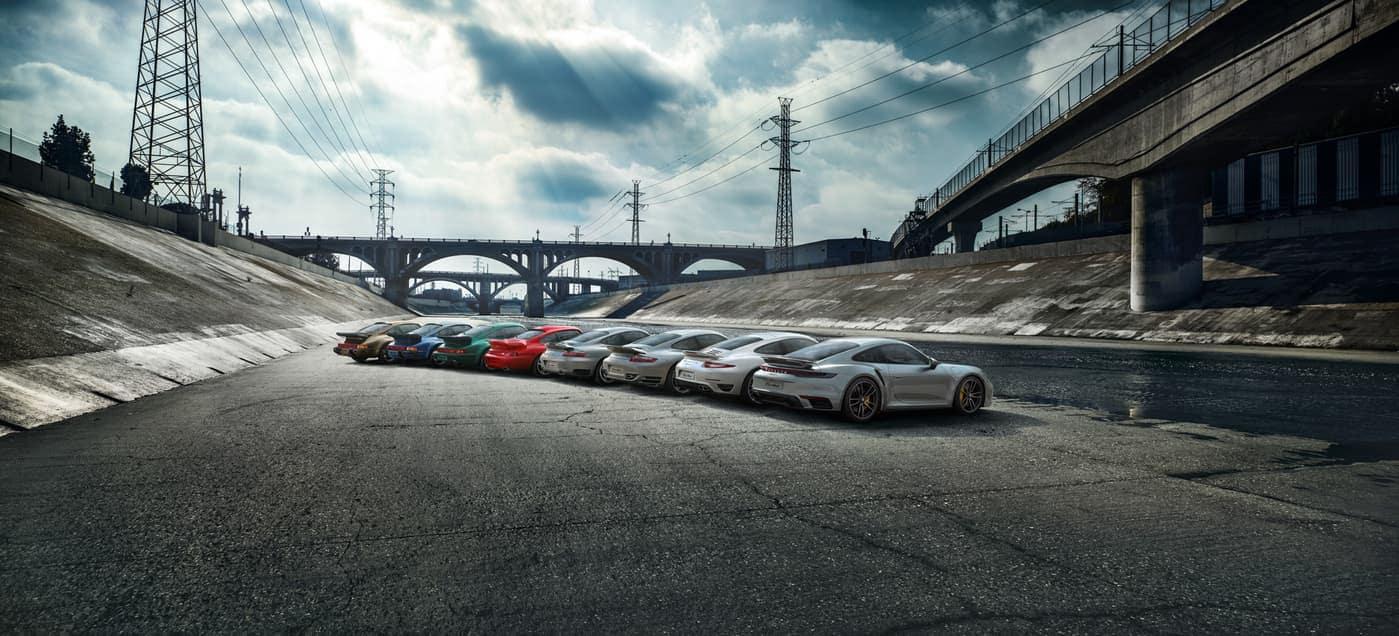 2020 Porsche 911 model lineup