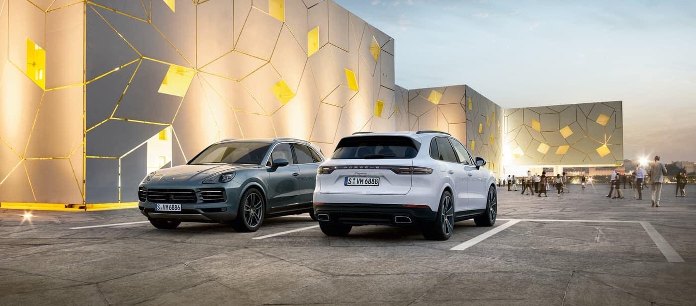 2020 Porsche Cayenne model lineup