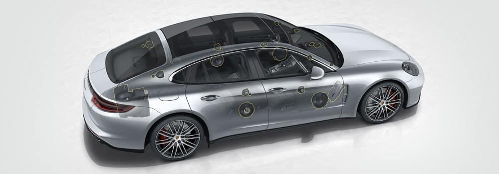 Burmester 3D Surround Sound in the Porsche Panamera