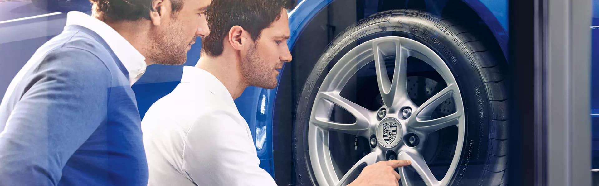 Porsche-Tires