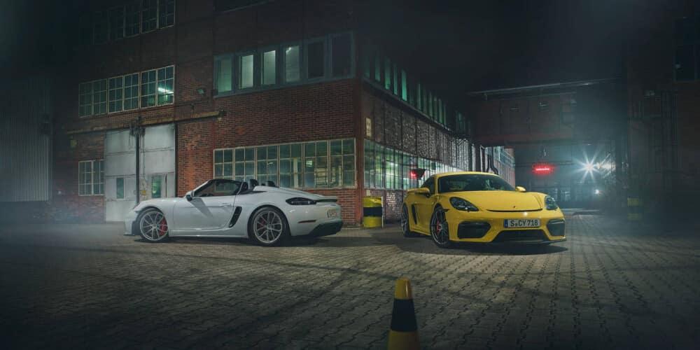 Porsche lineup