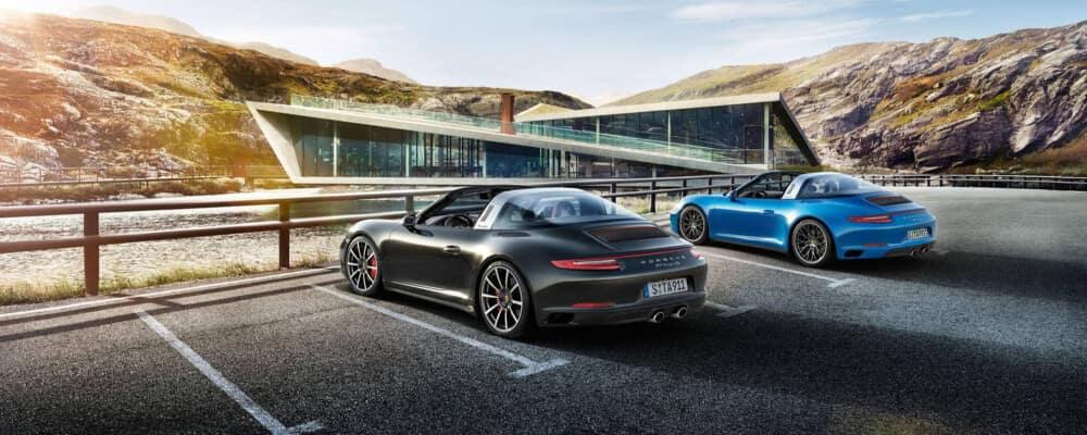 2020 Porsche Targa lineup