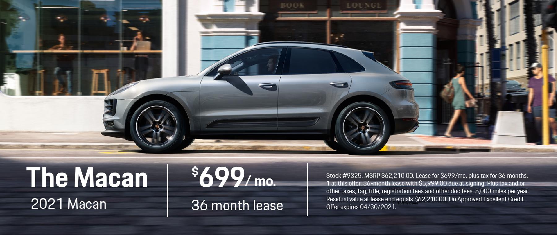 2021 Porsche Macan – Porsche Fremont April
