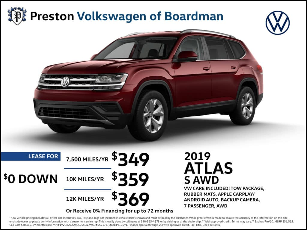 2019 Atlas S AWD