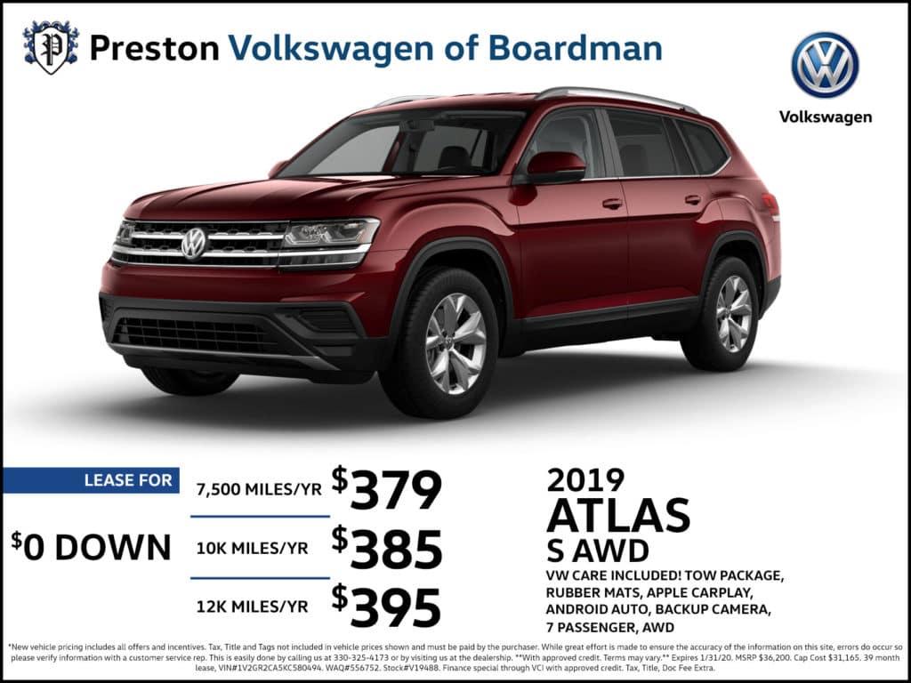 2019 Atlas S AWD