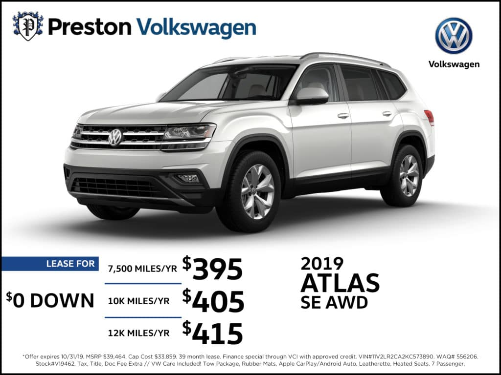 2019 Atlas SE AWD