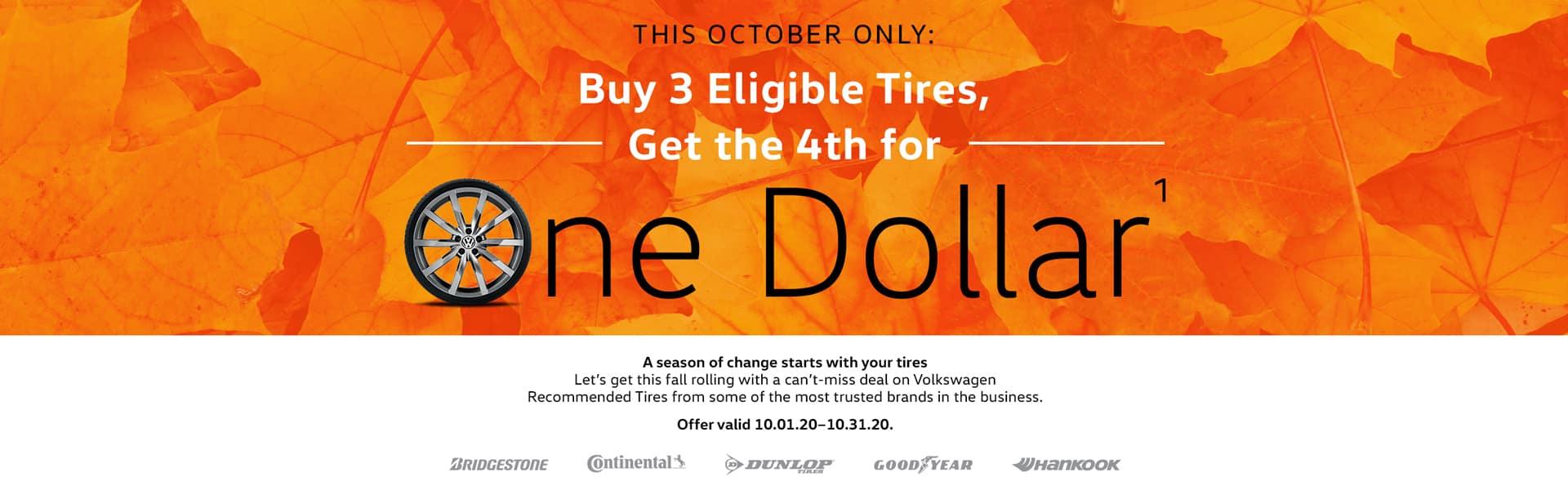 VW Tire Promotion