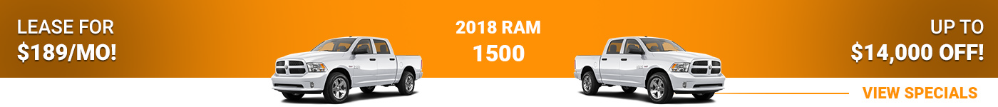 Ram 1500 Lease For $189/mo!