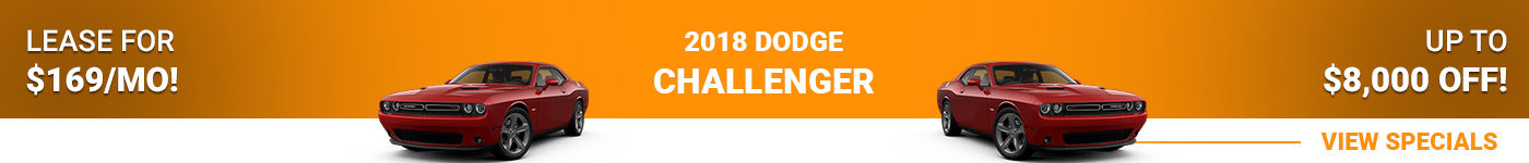 2018 Dodge Challenger Lease for $169/month