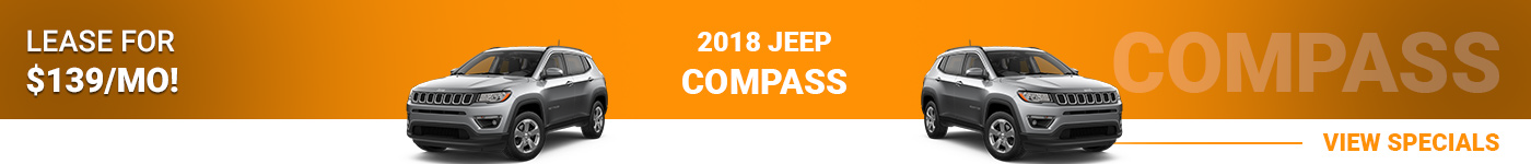 2018 Jeep Compass Lease For $139/mo