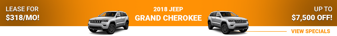 2018 Jeep Grand Cherokee Lease For $318/mo