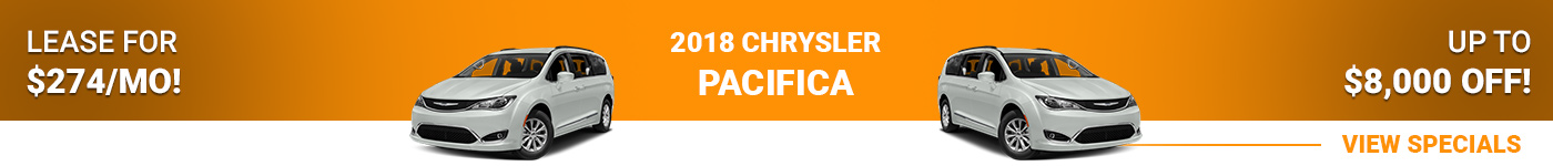 2018 Chrysler Pacifica Lease For $274/mo