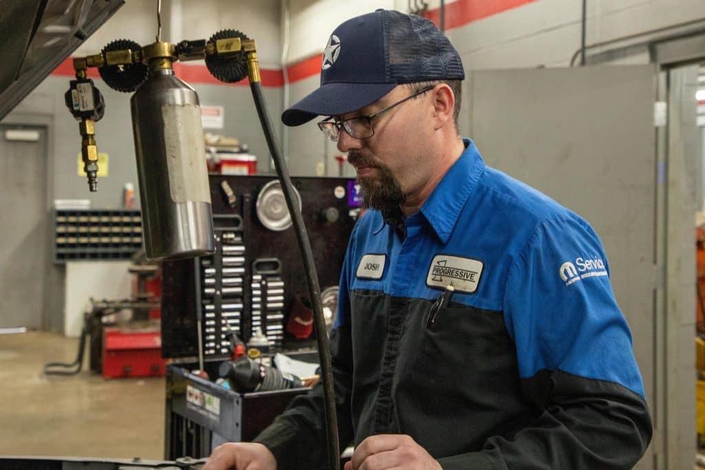 Image of Josh Gibbs, Service Technician