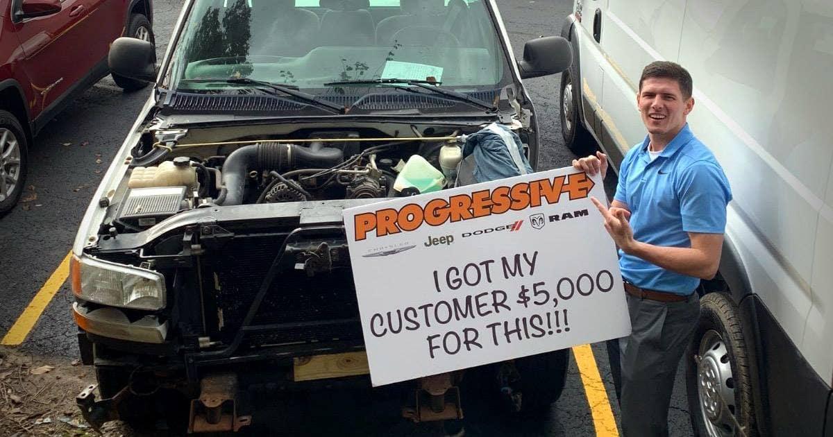 broken down car 5k for vehicle trade