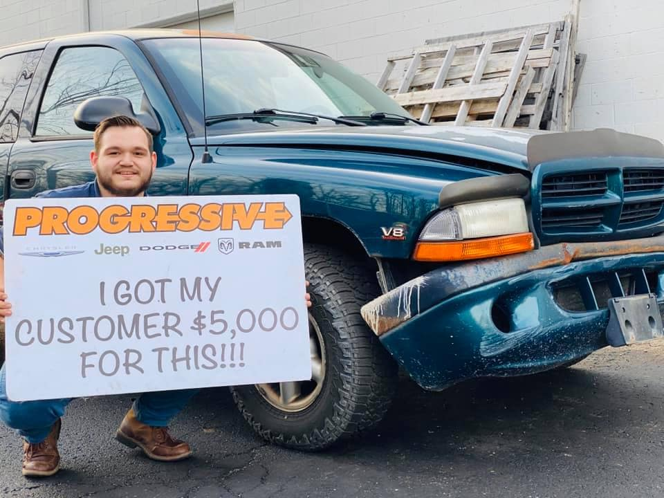 5k for Trade Broken Down Truck Exterior
