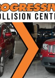 Progressive Collision Center Before and After Repair