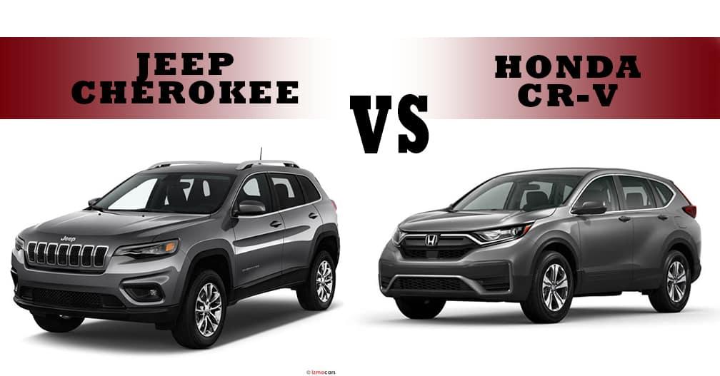 Jeep Cherokee vs Honda CRV