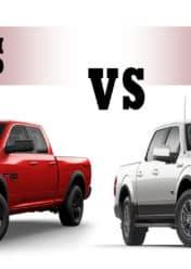 RAM 1500 vs Ford 150