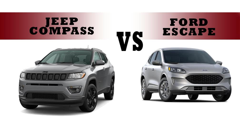 Jeep Compass vs. Ford Escape