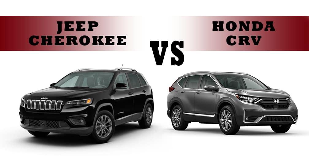 Jeep Cherokee vs. Honda CR-V