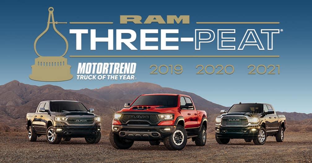 Ram trucks side by side