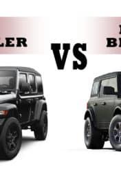 Head to Head Wrangler vs. Bronco