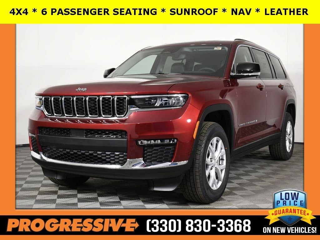 ALL NEW 2021 JEEP GRAND CHEROKEE L with 3rd ROW