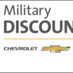 Chevrolet military discounts