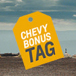 progressive chevy bonus tag