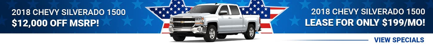 New Chevy Silverado Specials