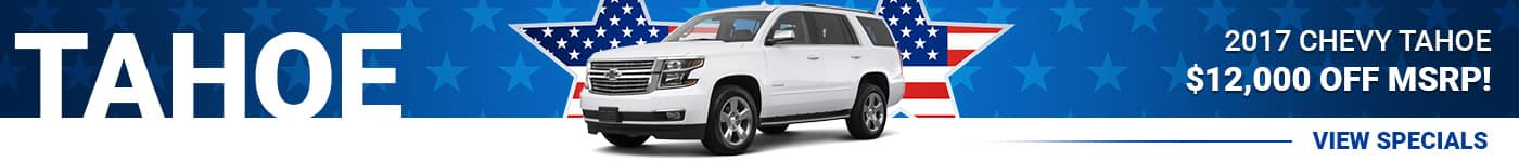 New Chevy Tahoe Special