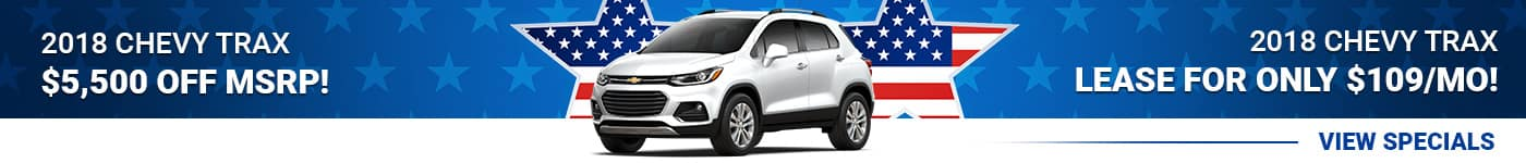 New Chevy Trax Special