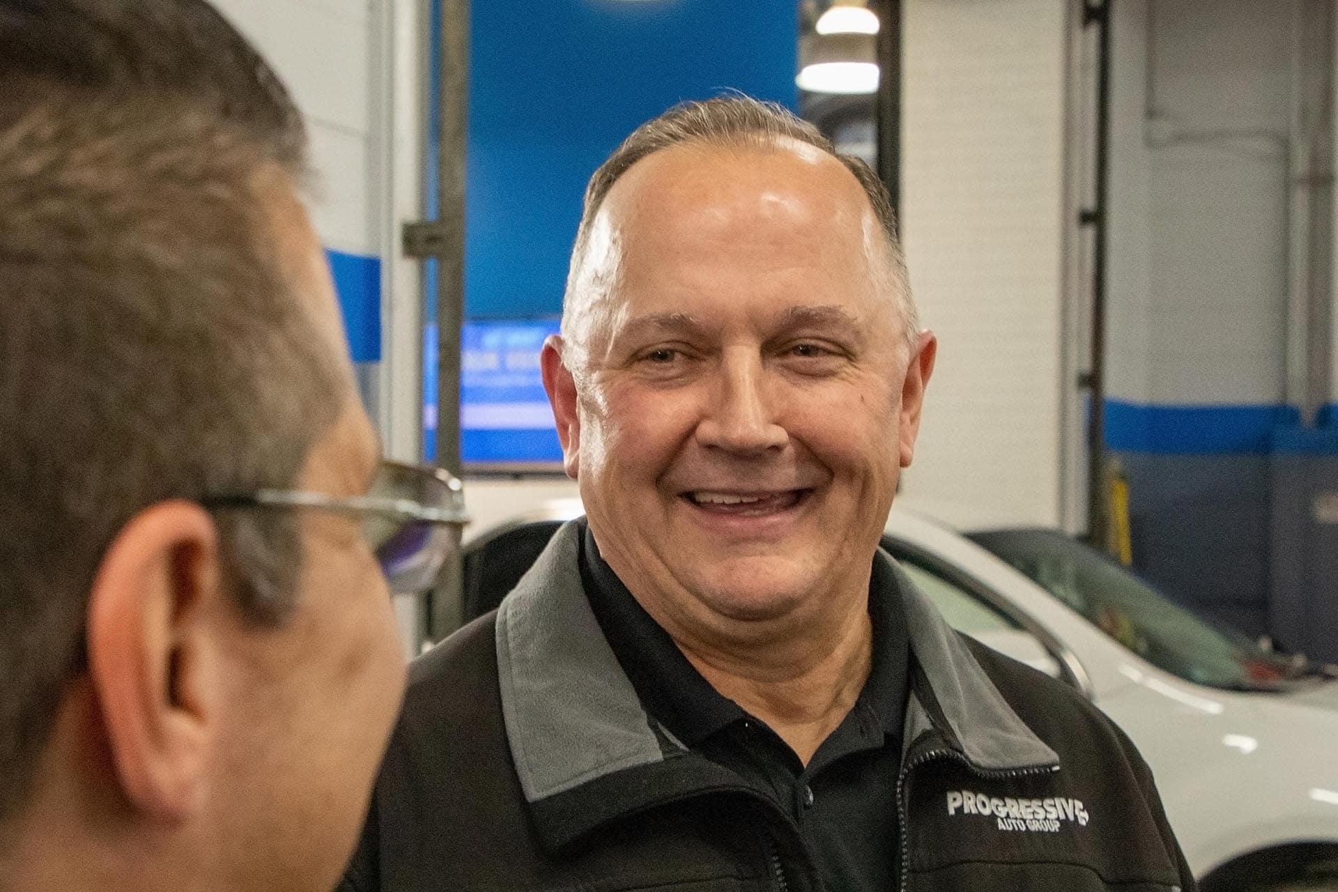 Progressive Chevrolet Service Manager John Gaddis