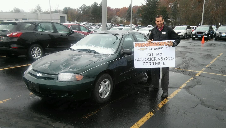 Car Dealer Gives $5000 for broken down car