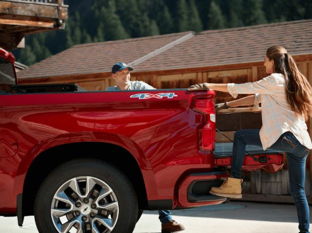 chevy silverado truck bed