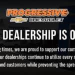 Progressive Dealership is Open