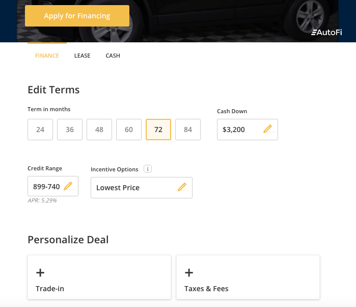 Personalize Your Deal