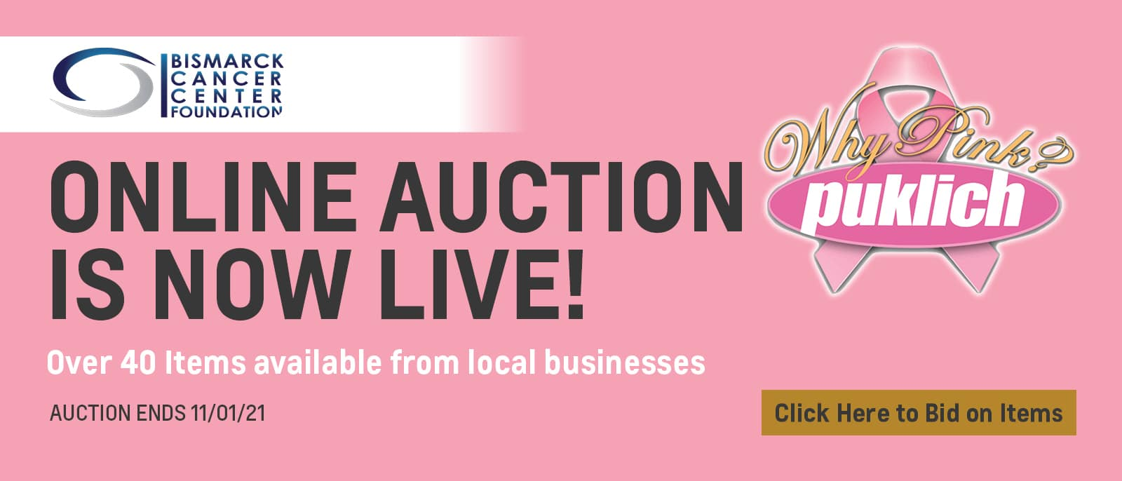 Online Auction Now Live!