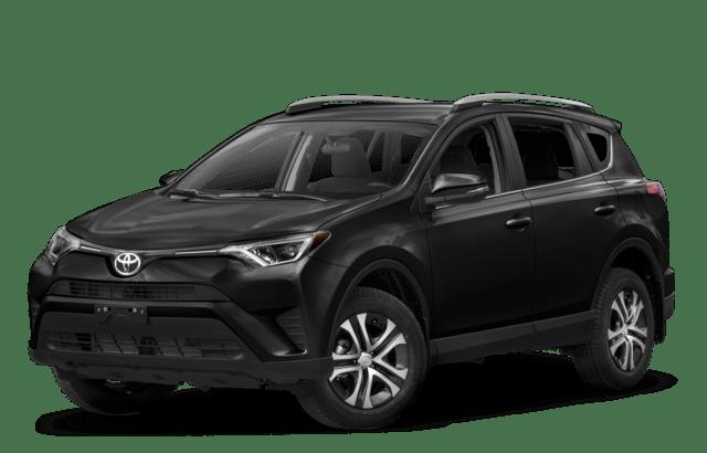 2018 Toyota RAV4 Angled