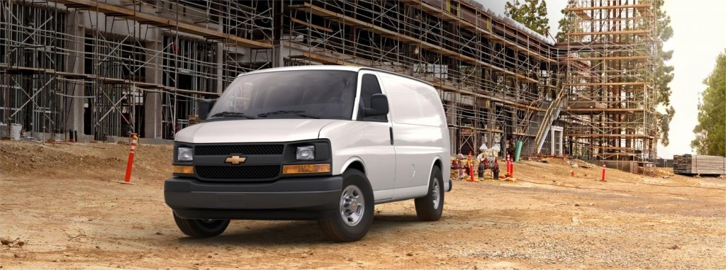 Chevrolet Express front view