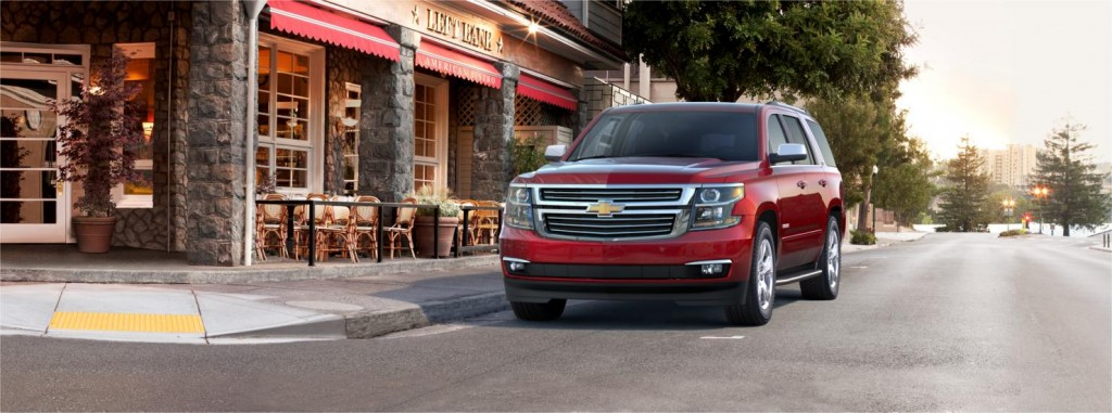 Chevrolet Tahoe front view