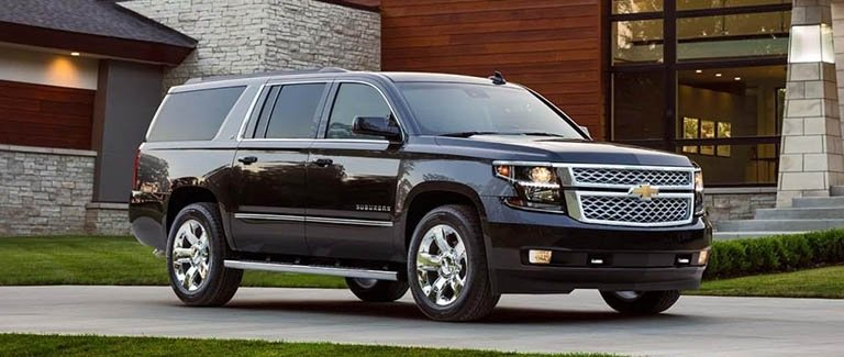 New Chevy Suburban