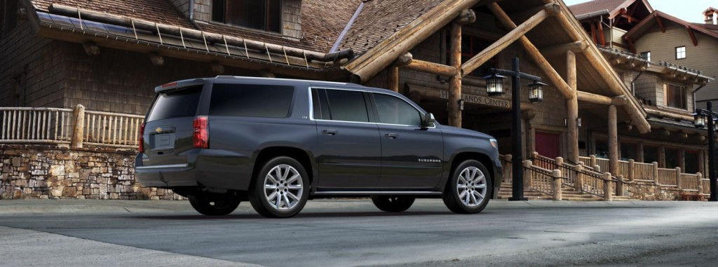 Chevrolet Suburban other side view