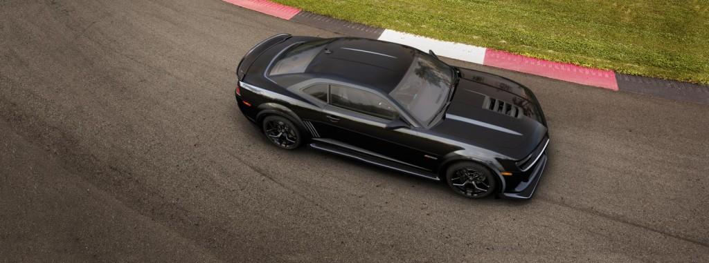 Chevrolet Camaro top view