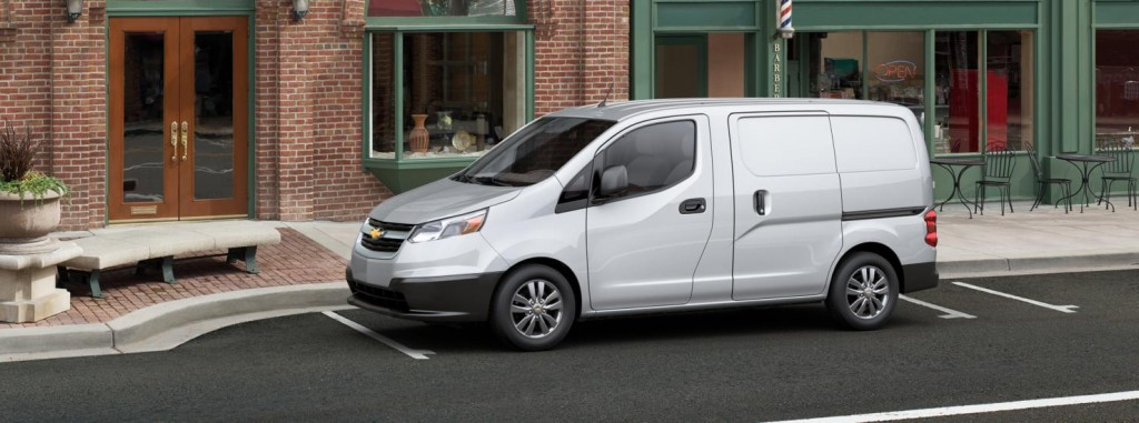Chevrolet City Express side view