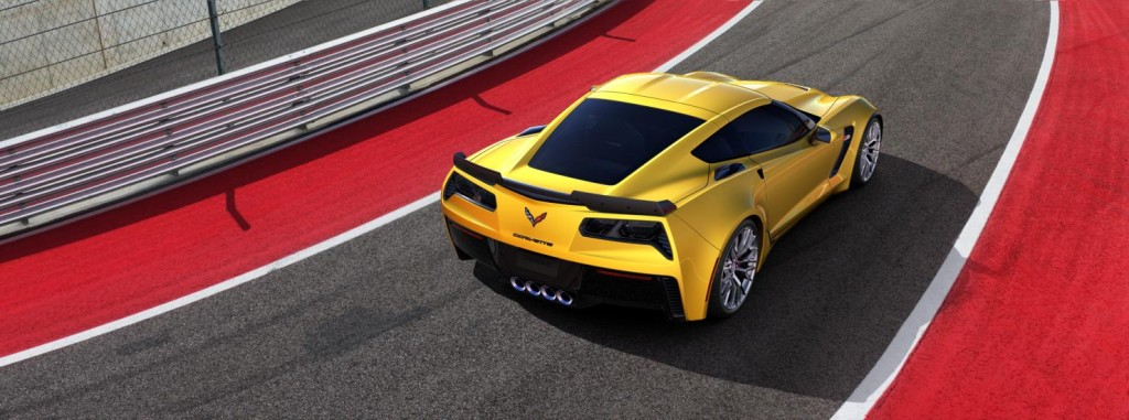 Chevrolet Corvette back view
