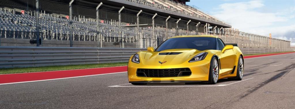 Chevrolet Corvette front view