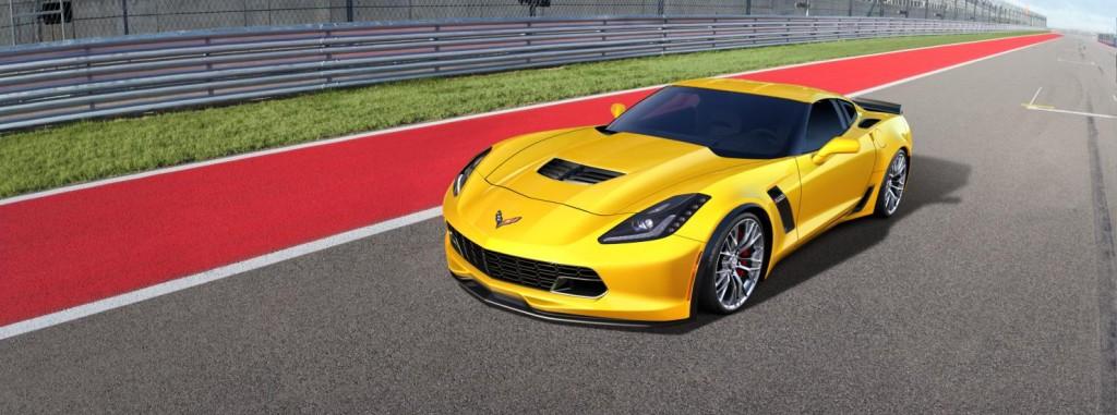 Chevrolet Corvette side view