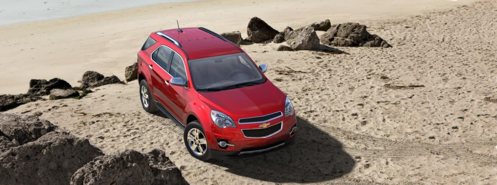 Chevrolet Equinox front side view