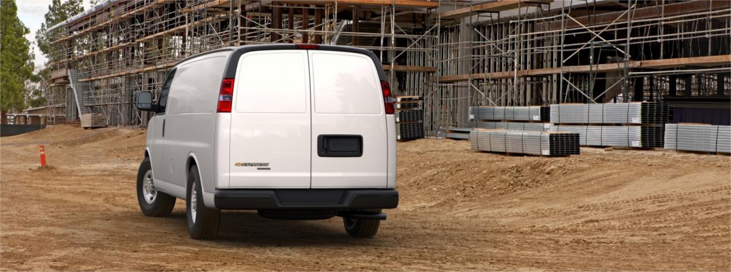 Chevrolet Express back view